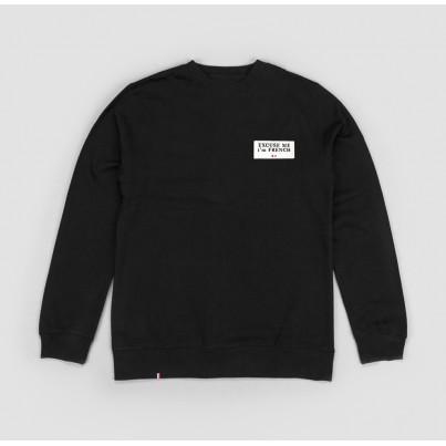 Sweatshirt noir