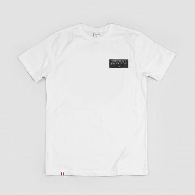 T-shirt blanc brodé
